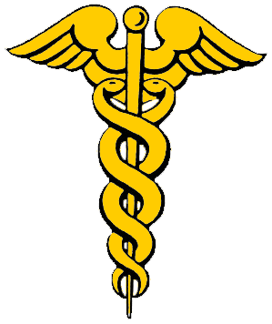There Are Various Designs Used By The Medical Profession As Their Symbol Such 2 Snakes Entwined On A Winged Pole Or Single Serpent Staff